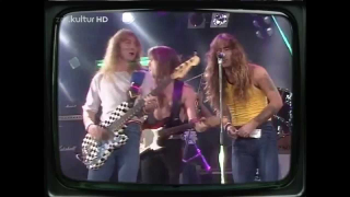 What The Fuck ??!  - Vu sur le Net IRON MAIDEN, SAXON et THIN LIZZY à la télé
