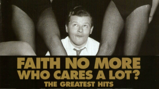 "FAITH NO MORE Edition double vinyle de ""Who Cares a Lot? - The Greatest Hits"""