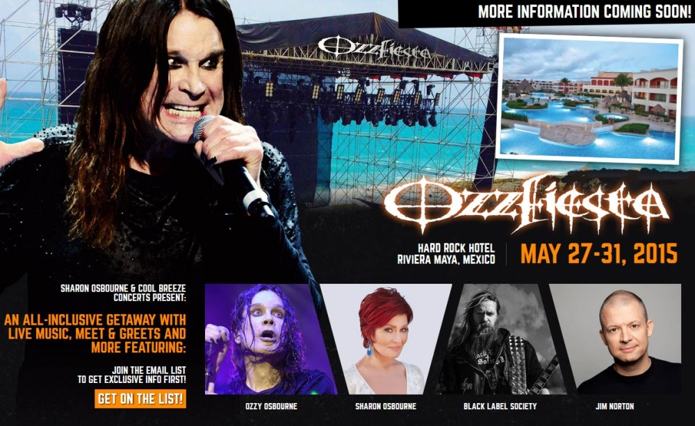 Ozzy osbourne black label society la ozzfiesta de mexico actu fest will feature performances from zakk wylde as well as his band black label society a comedy club an intimate beachside ozzy osbourne concert on the m4hsunfo