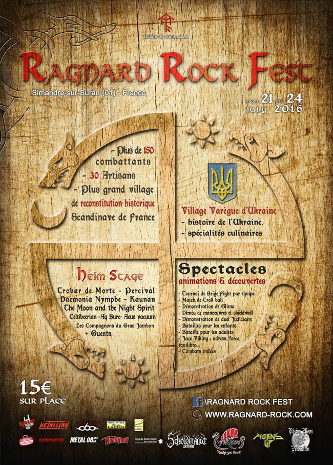 ragnard rock festival 2018