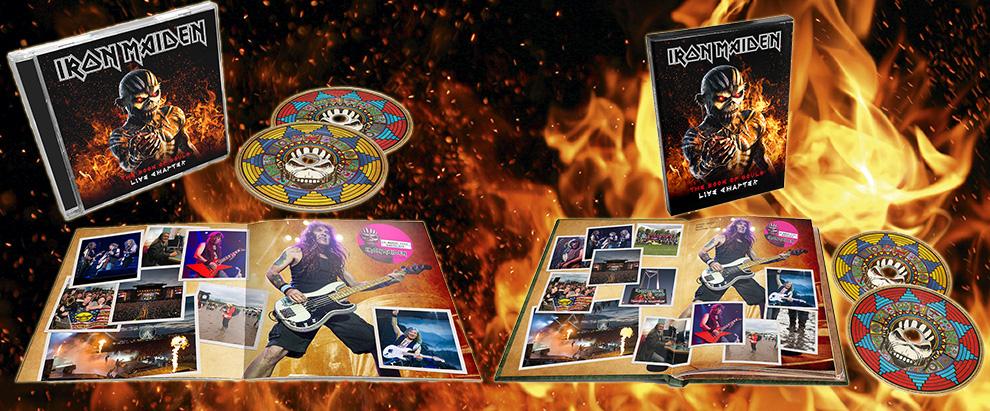 Résultats de recherche d'images pour «IRON MAIDEN The Book of Souls Live Chapter pochette»