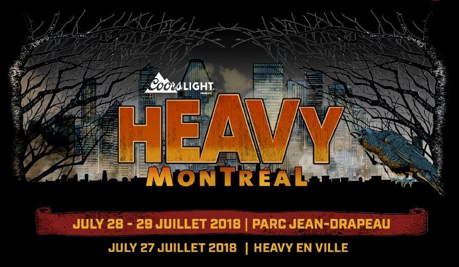HEAVY MONTREAL <span>• L'affiche complète du festival et plus encore !</span>