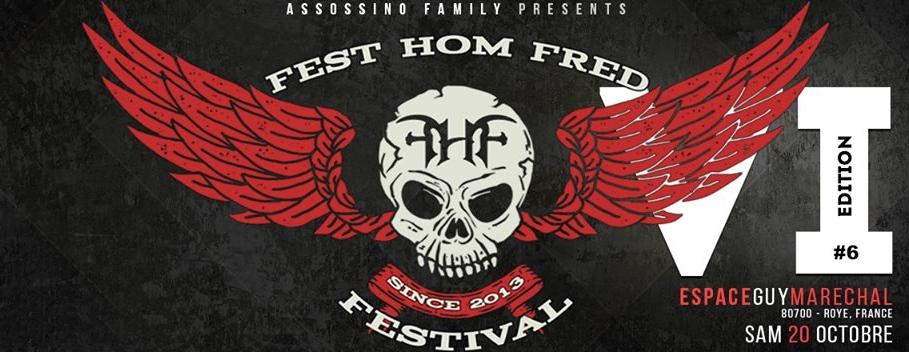 FEST HOM FRED <span>• Festival caritatif contre le cancer</span>
