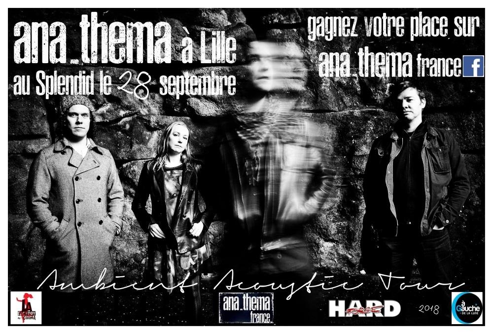 ANATHEMA <span>• Ton billet pour Lille avec ANATHEMA France</span>