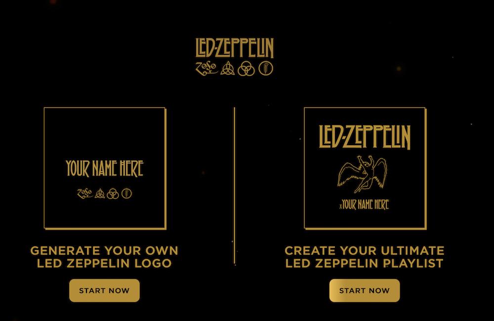 LED ZEPPELIN <span>• Créez votre play-list pour son 50e anniversaire</span>