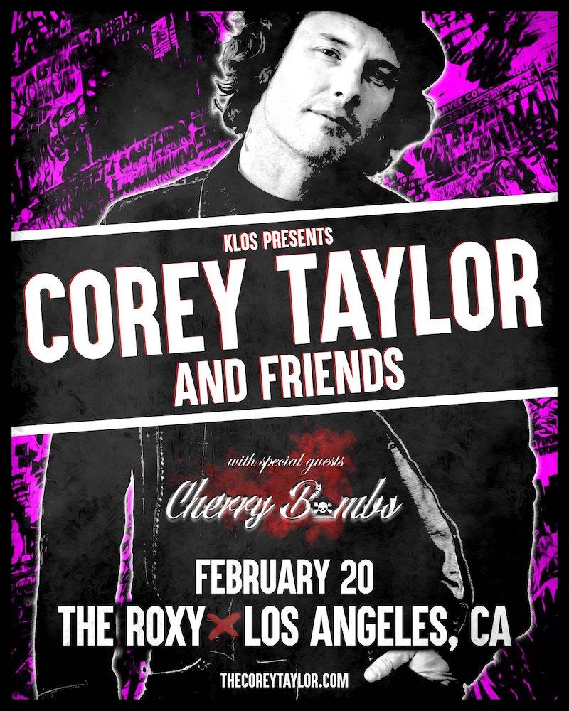"""Corey Taylor & Friends <span>• Le """"juke-box hero"""" en live</span>"""