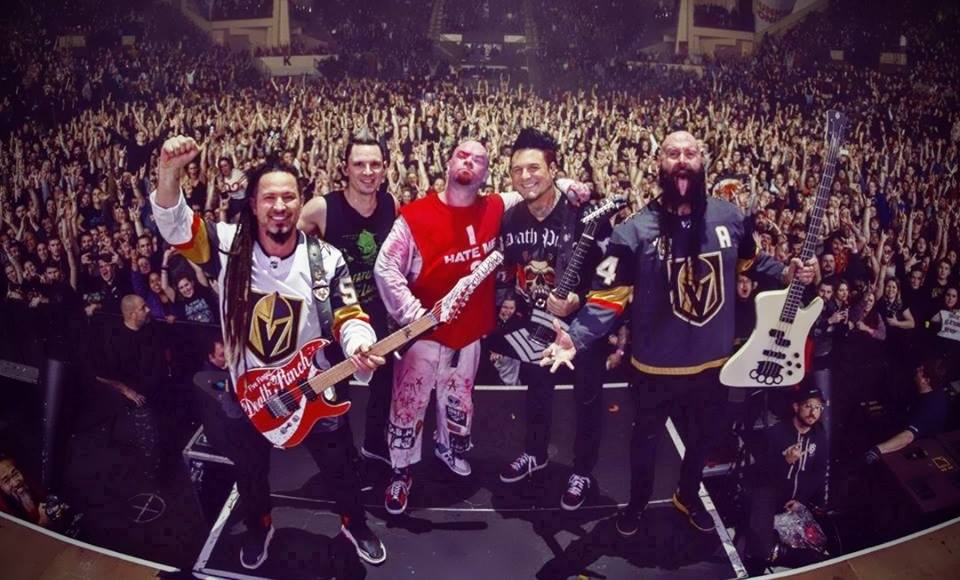 FIVE FINGER DEATH PUNCH <span>• Une reprise avec des guests et Brian May</span>