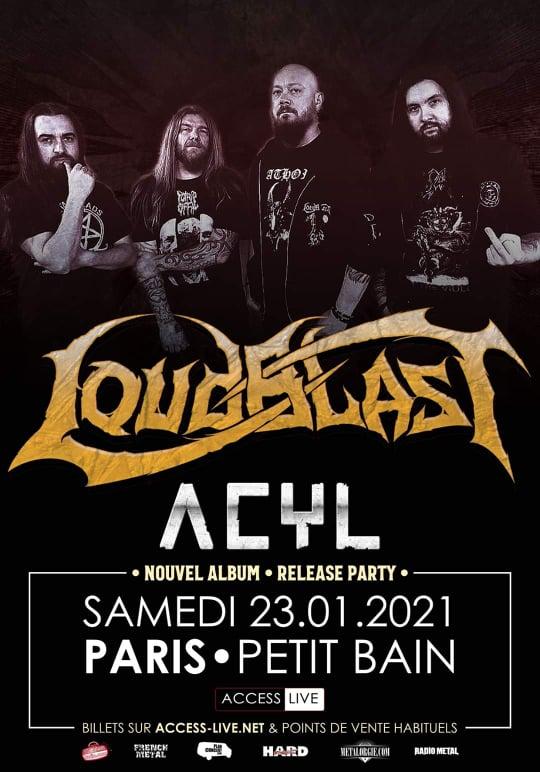 LOUDBLAST • Report du concert parisien