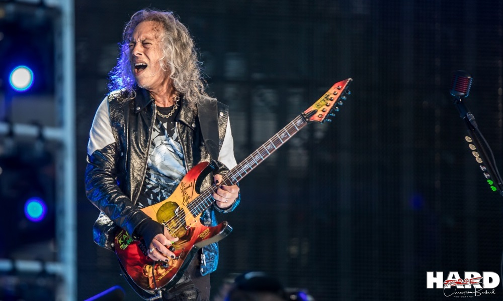 "METALLICA Kirk Hammett est en mode ""écriture"""