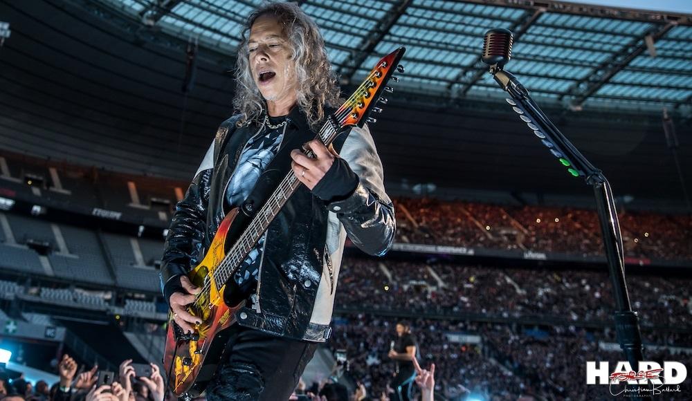 """Kirk Hammett La guitare du clip de """"One"""" vendue aux enchères"""