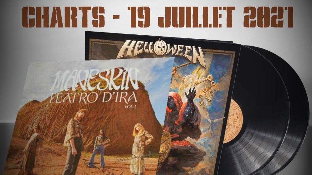 TOP ALBUMS EUROPÉEN Les meilleures ventes en France, Allemagne, Belgique et Royaume-Uni - 19 juillet 2021